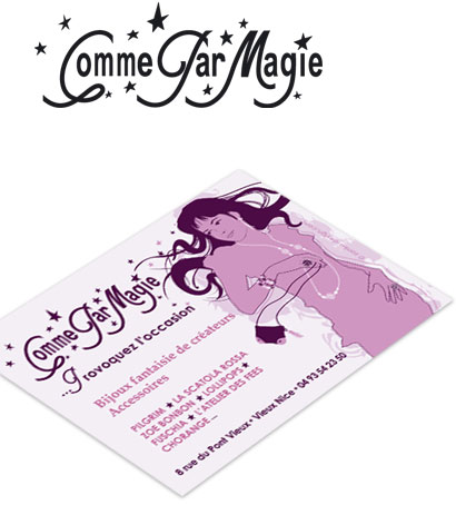 Cartes De Visite Comme Par Magie Zanka Design